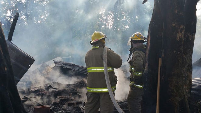 GFD units responded to a fire in Yigo at the Gil Baza subdivision.