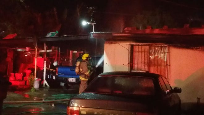 Just after 330 a.m. Saturday, firefighters were called to a house fire on Chalan Agatelang in Dededo. Eight residents were able to escape without injury, but one was found unresponsive and beyond resuscitation in the house, according to GFD.