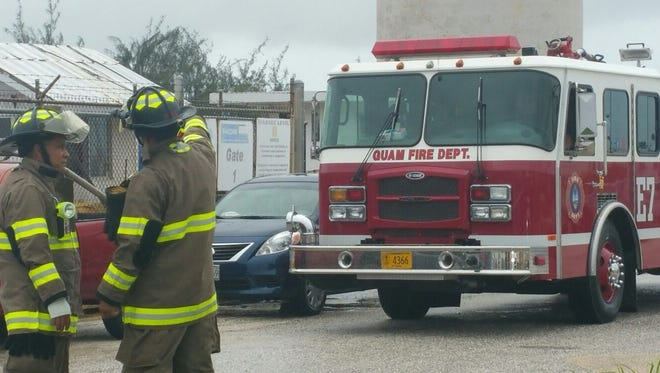 The Guam Fire Department responded to the Port of Authority of Guam Wednesday morning for a report of a foul odor.