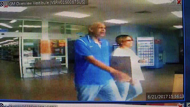 Police are looking for these two suspects in a series of thefts in Clarksville and Middle Tennessee.