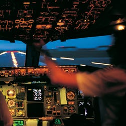Before every takeoff, the pilots calculate all the performance values, assuming an engine failure at the worst time.