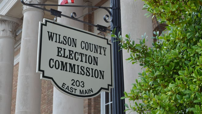 Early voting starts Friday in Wilson County at four locations.