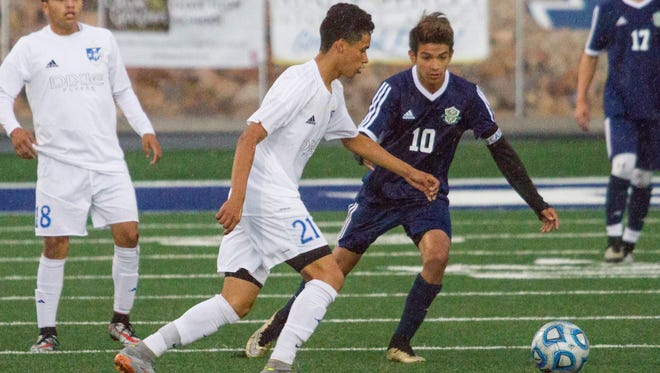 Snow Canyon and Dixie will play Logan and Juan Diego on Friday with the winners advancing to the 3A title game at Alta High School on Saturday.