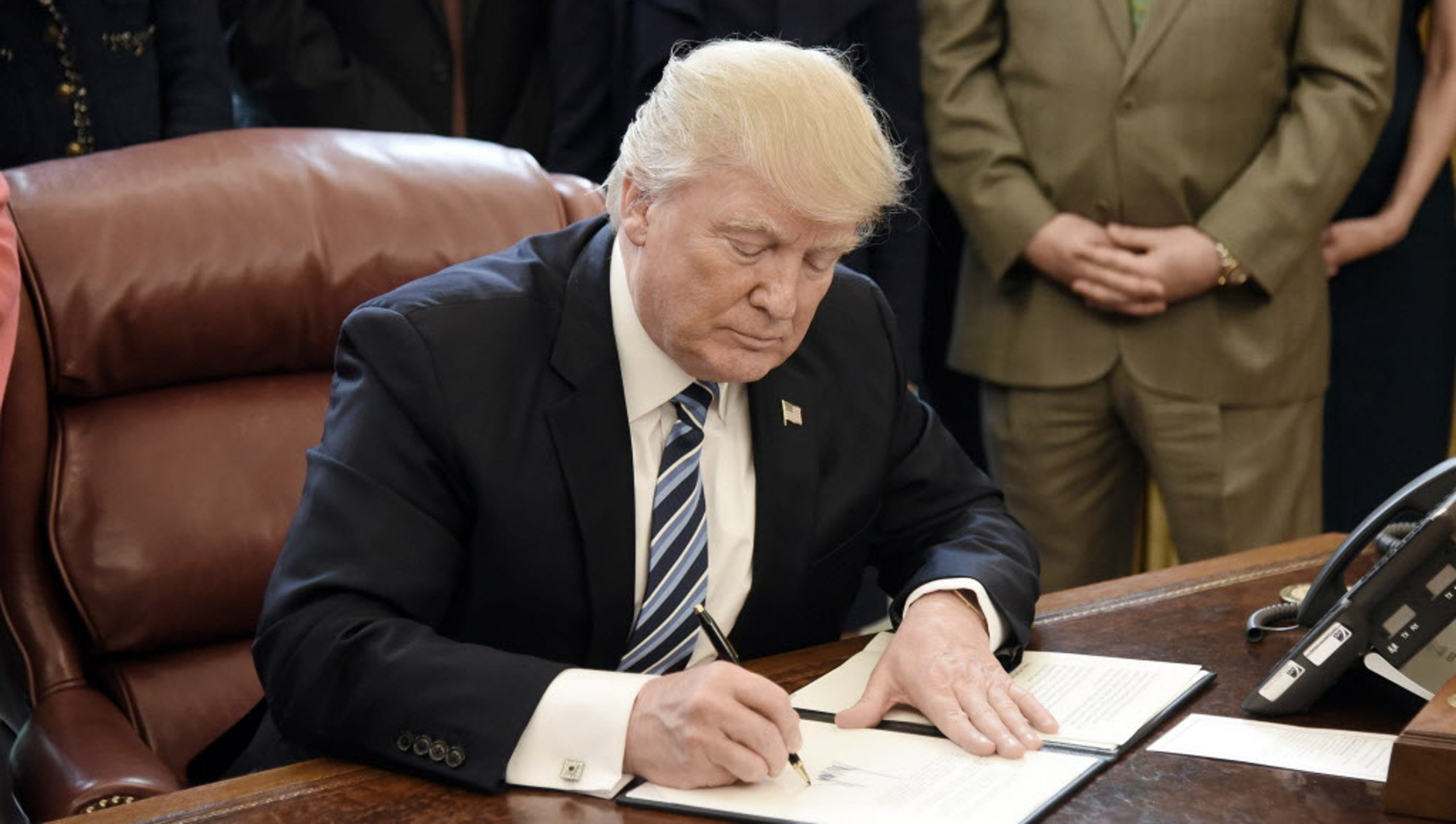 Make America great again by resigning: Second Look