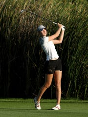 Jenny Haglund of Sweden leads Symetra Tour rookies in earnings with $49,751 in nine events this season.