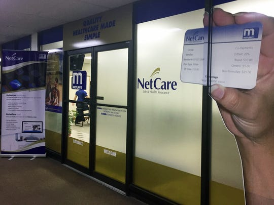 A NetCare Life and Health Insurance office as shown