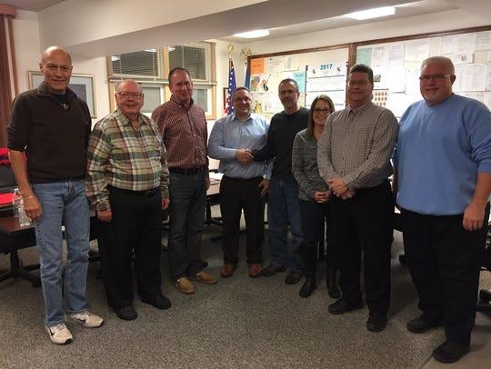 Progress Lakeshore recently thanked Village of Mishicot