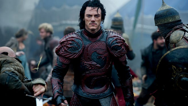 "Luke Evans stars as the notorious Vlad the Impaler in ""Dracula Untold."""
