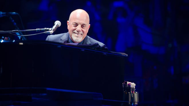 Billy Joel performs at Madison Square Garden in New York on May 9, 2014..
