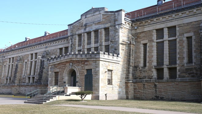 The old Iowa State Penitentiary building in Fort Madison.