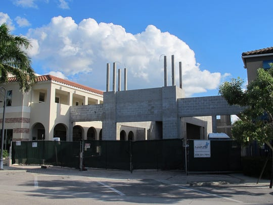 The Bevy restaurant and lounge, now under construction,