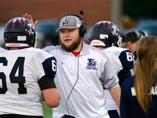 Lakota assistant coach Kade Long was first-team all-Ohio at linebacker once for Clyde.