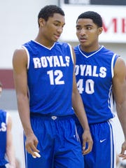 FILE – Teammates at HSE, Zak Irvin, left, and Gary