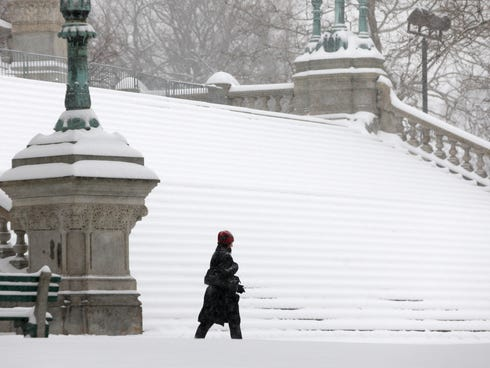 of the Capitol in Albany, N.Y., on Feb. 5, 2014. / Mike Groll, AP