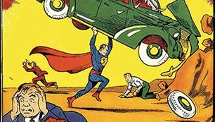 Action Comics No. 1, the 1938 book in which Superman first appeared.
