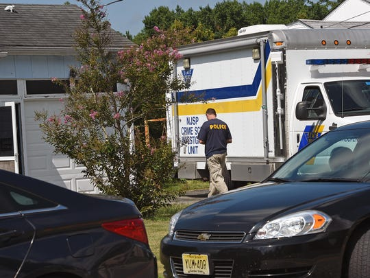 Vineland Police and N.J. State Police were in the 700 block of  South West Avenue looking for evidence related to a Millville missing person case on  Aug. 12, 2015.