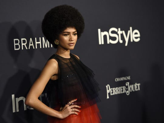 Zendaya, recipient of the Style Star award, at the 3rd annual InStyle Awards at the Getty Center on Monday in Los Angeles.