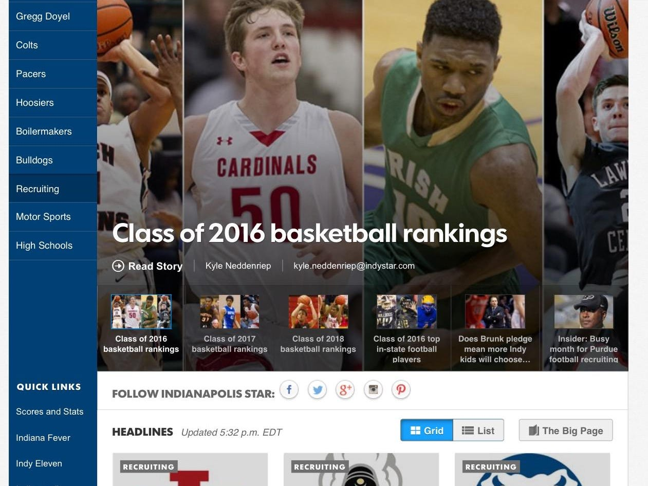 IndyStar's new Recruiting Central