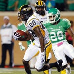 Southern Miss receiver Michael Thomas was the team's leading receiver as a junior last season.