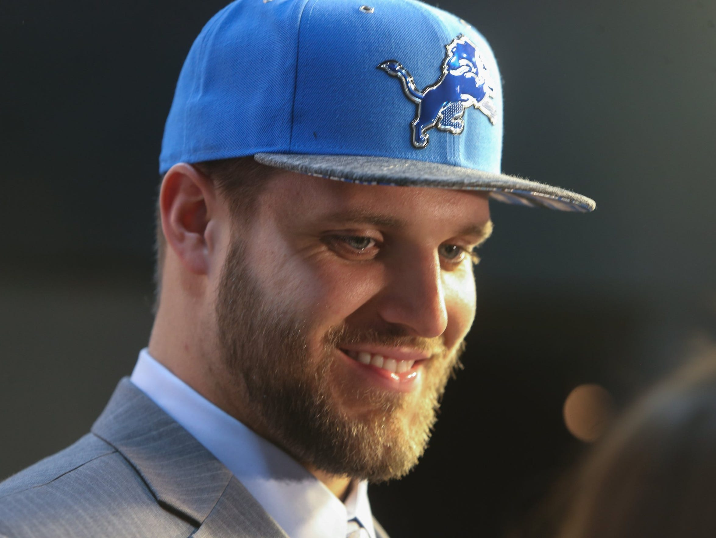 Taylor Decker New Lion inspires leads protects