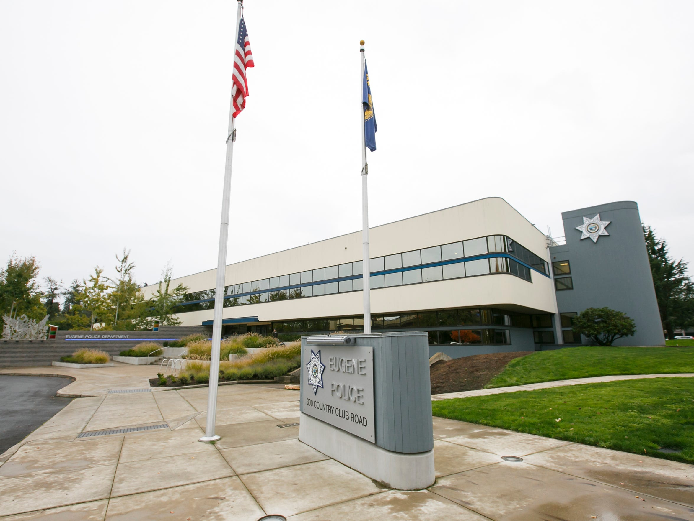 The Eugene Police Department's current building was