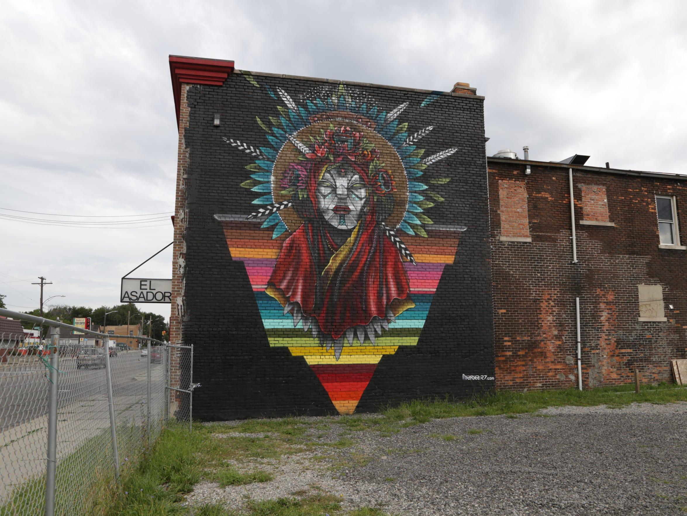 Detroit Street Art Mustsee Pieces - Spanish street artist transforms building facades into amazing artworks