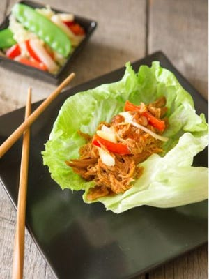 Asian BBQ Pulled Chicken