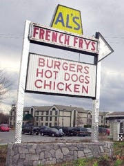 The cost of a meal at Al's French Frys has increased