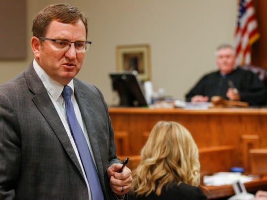 Greene County Prosecuting Attorney Dan Patterson delivers
