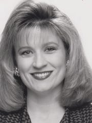 Heidi Foglesgong, seen in 1993, left behind TV news