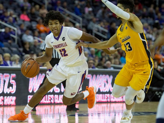 Evansville guard Dru Smith was one of the most efficient players in the country as a sophomore.