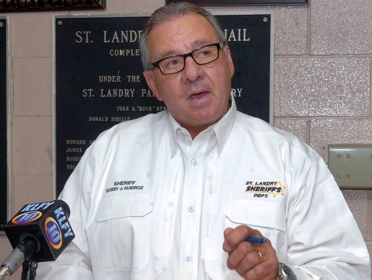 St. Landry Parish Sheriff Bobby Guidroz