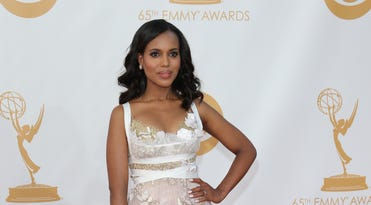 It was another red carpet event, the Emmy Awards, that produced the Life sections second most popular gallery and eighth overall for 2013. KERRY WASHINGTON |<br />