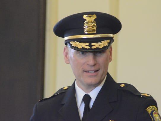 Battle Creek Police Chief Jim Blocker.