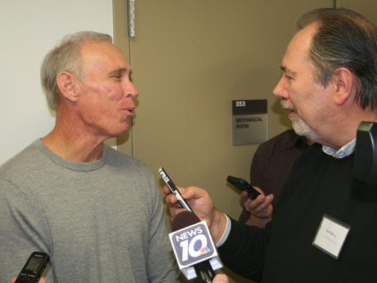Tiger great Alan Trammell during the annual Winter