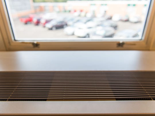 Air conditioning was turned on in some Vineland High