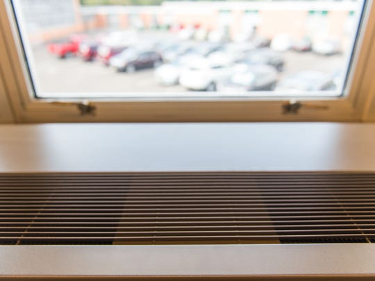 Air conditioning was turned on in some Vineland High School South classrooms on Tuesday, September 13.