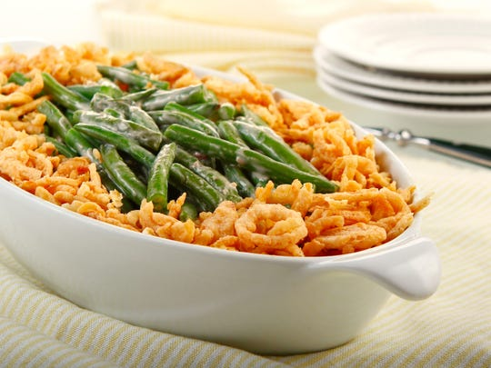 Of course, what is Thanksgiving without a savory, crunchy green bean casserole?