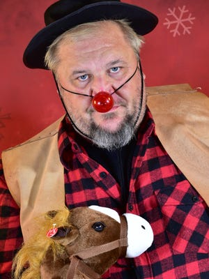 Let Me Be Frank Productions will stage 'Randolph the Baddest Outlaw' on the Capitol Civic Centre stage Dec. 29. The show is a mix of Rudolph, Grinch and 'Blazing Saddles.'