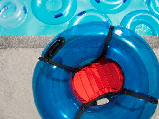 Dollywood's Splash Country water park has introduced two new types of tube for people with accessibility or mobility issues. This variety of tube is fitted with a seat and reduces pressure on the upper back and legs.