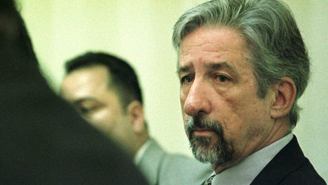 As a California state senator, Tom Hayden and a delegation of Salvadorans who resided in the U.S. held a news conference on Nov. 25, 1998, in San Salvador, El Salvador. Hayden was asked to help stop the deportation of Salvadorans who entered the U.S. illegally.