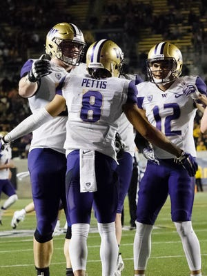 Washington is 9-0 and rose one spot into the top four of the College Football Playofff selection committee's rankings this week.
