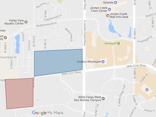 Project planned for last undeveloped parcel near Jordan Creek mall
