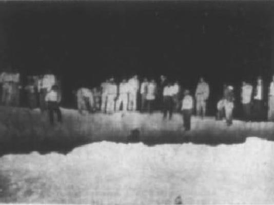V-2 ROCKET LANDS IN JUAREZ