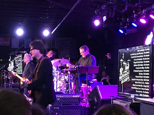 Glen Burtnik, Bob Burger, John Merjave and Max Weinberg at the Stone Pony in Asbury Park.