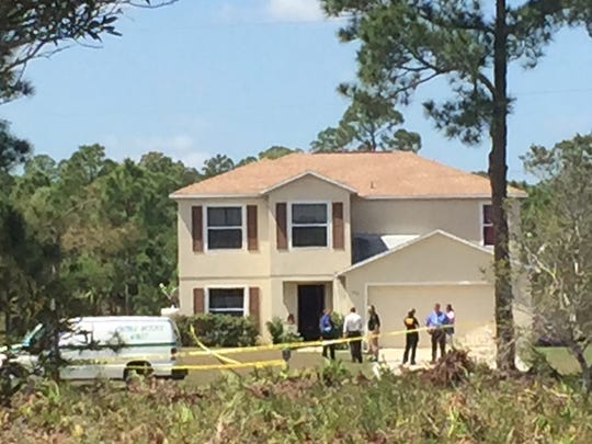 Lee County Sheriff's Office is investigating a home