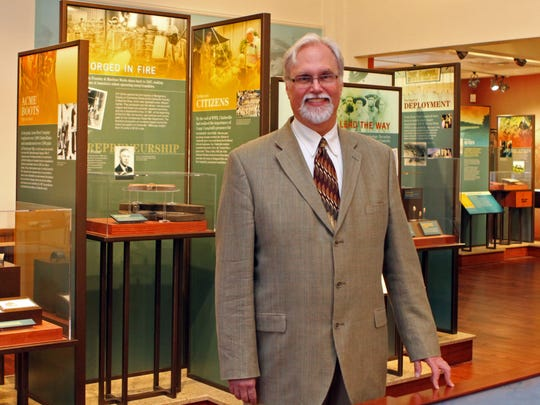 Customs House Museum Director Jim Zimmer wants to get