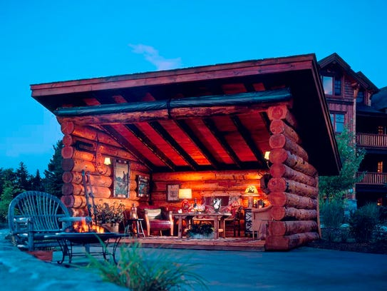 Enjoy the rustic charm that Whiteface Lodge has to