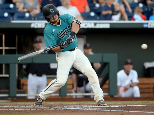 NCAA Baseball: College World Series-Coastal Carolina vs Texas Tech