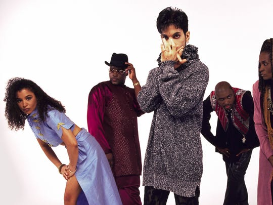 Prince and his band, The New Power Generation in November